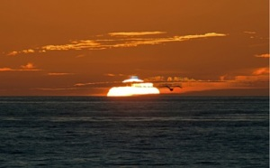 Green Flash Sunset - Mission Beach